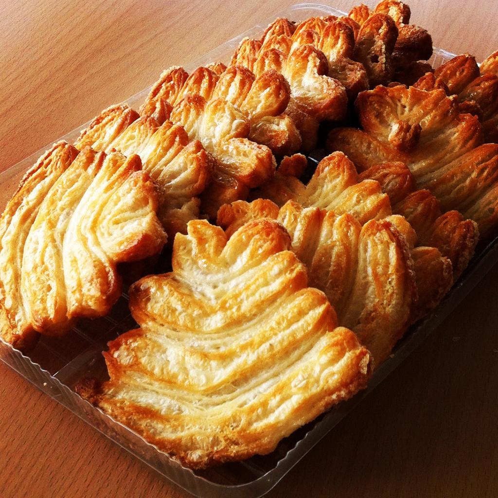 Bätterteig-Kekse?