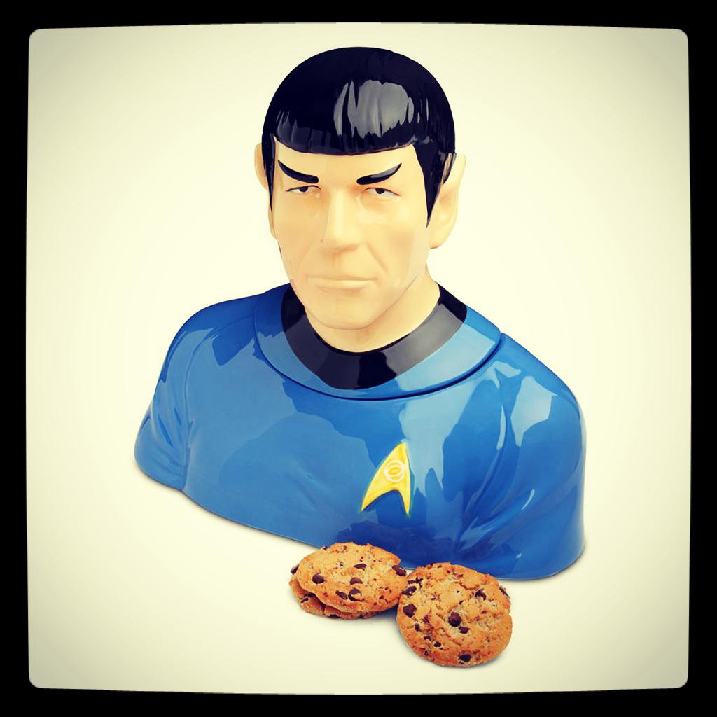 Mister Spock Keksdose