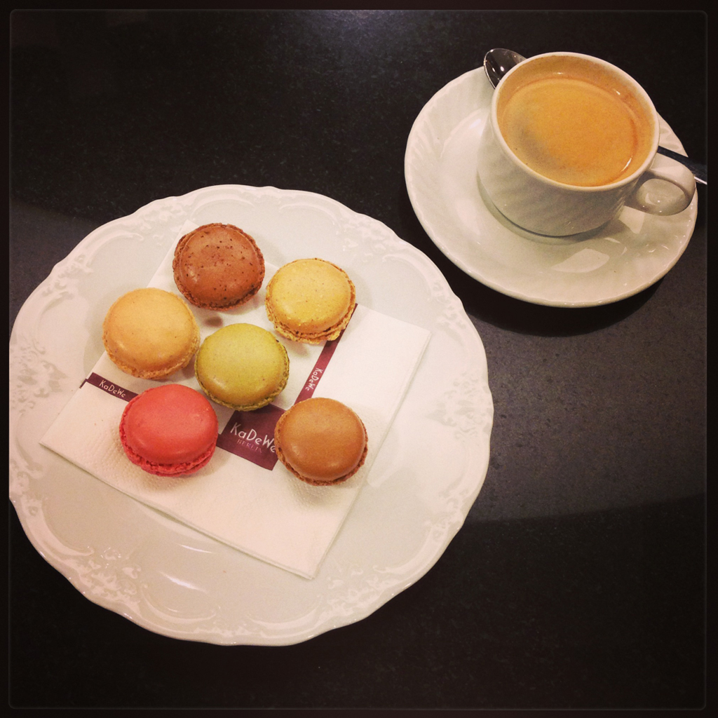 Lenôtre Macarons im KaDeWe