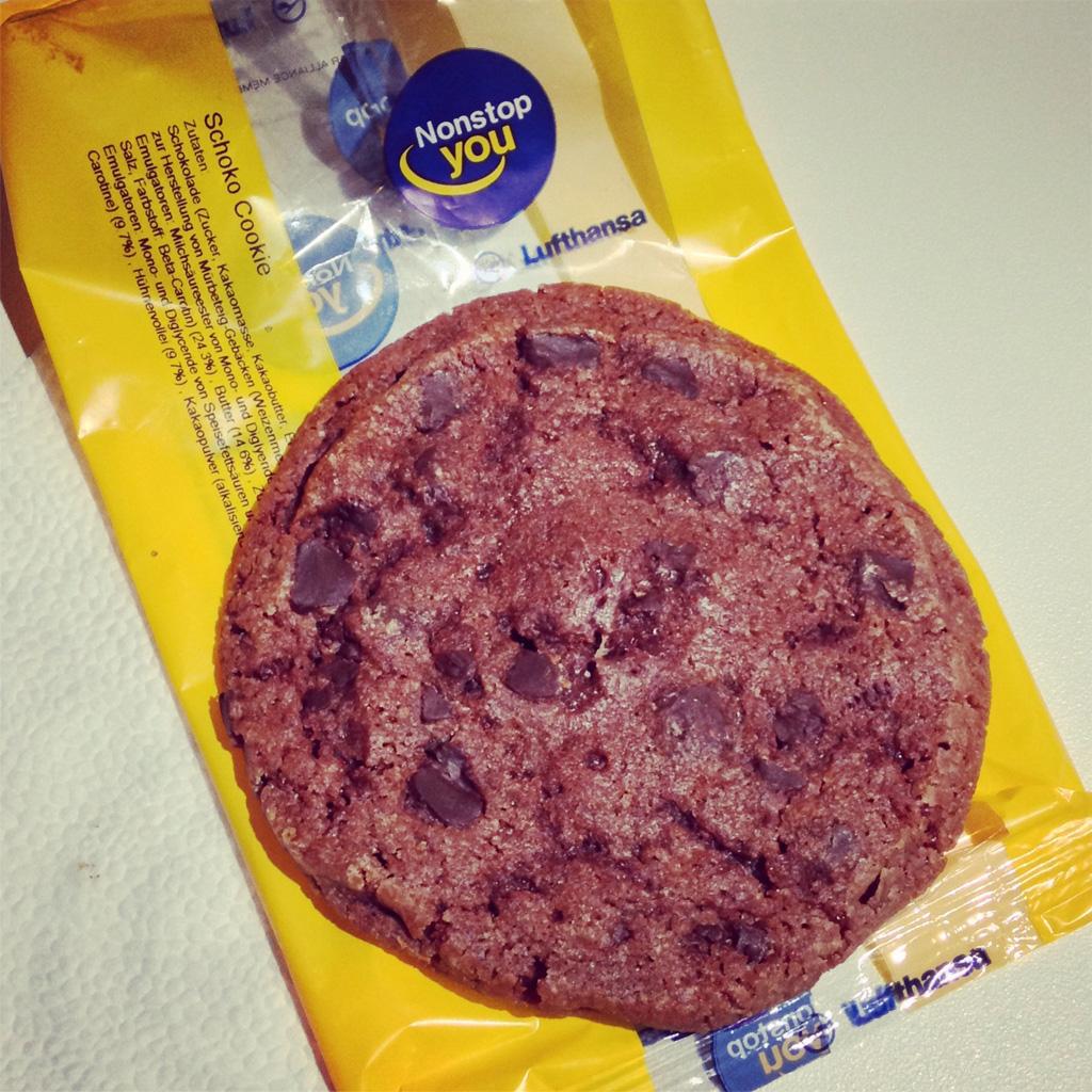 Lufthansa Schoko Cookie