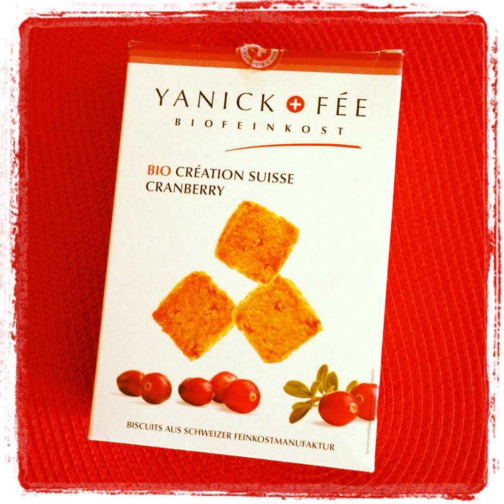 Yanick+Fée Cranberry Cookies