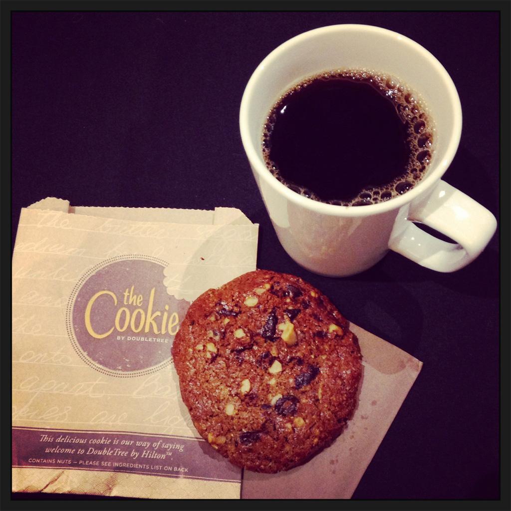 Der Keks vom DoubleTree by Hilten Hotel Dublin