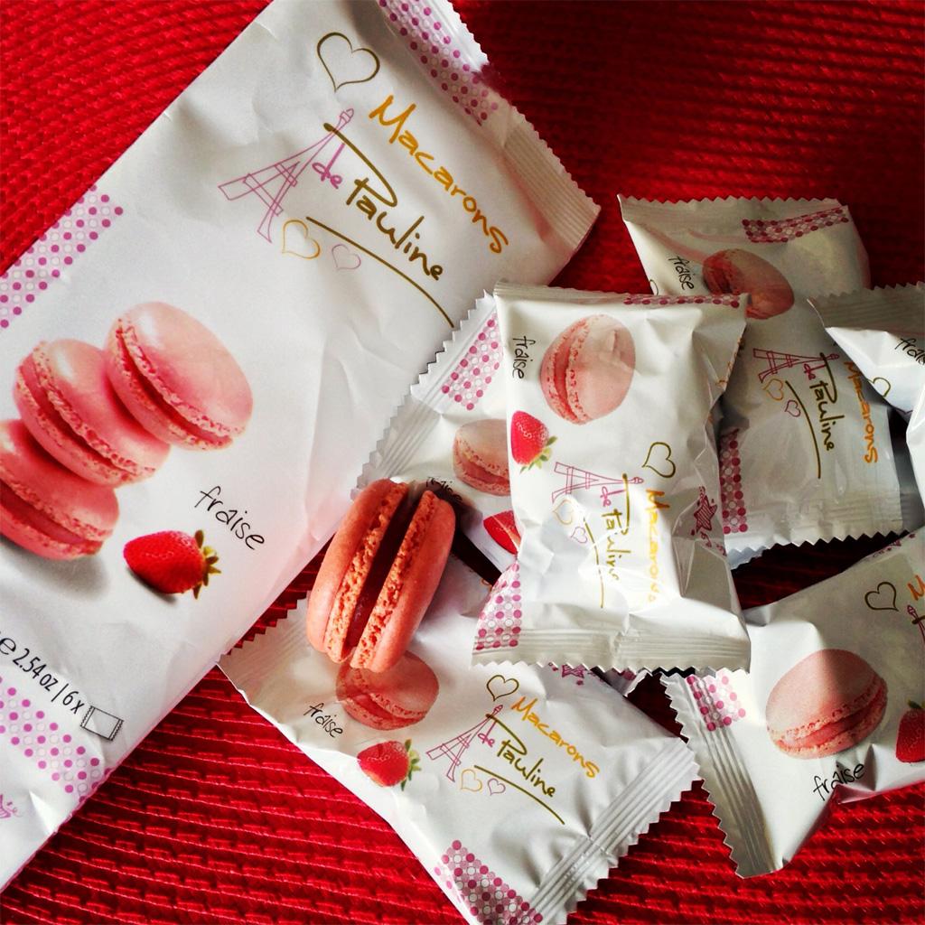 Macarons de Pauline fraise